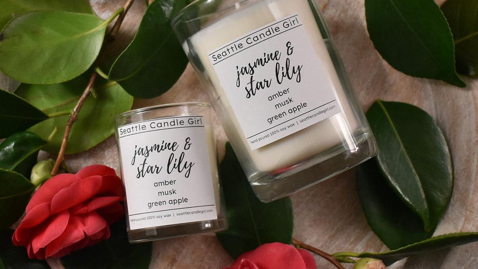 Jasmine & Star Lily Soy Candle