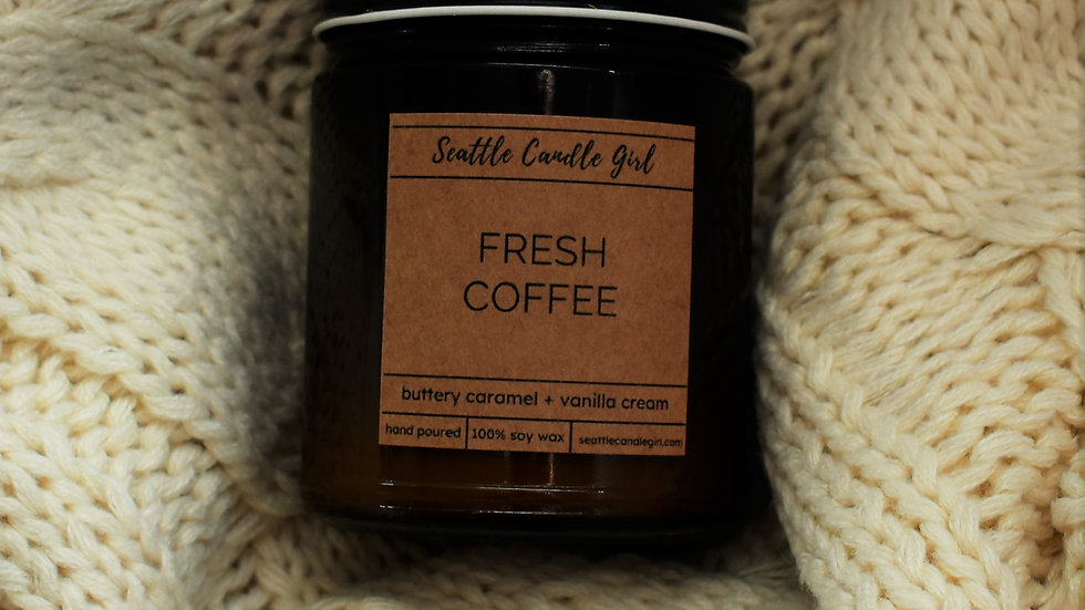 Fresh Coffee- Fall Collection- Soy Candle