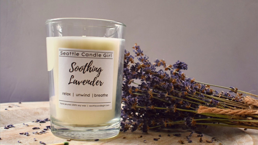 Soothing Lavender Soy Candle