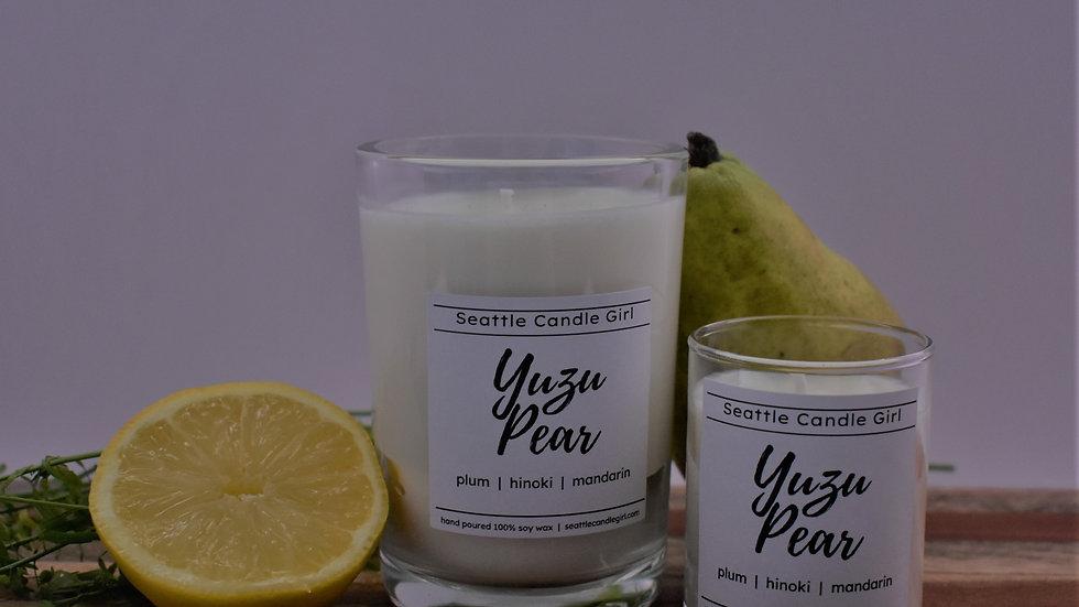 Yuzu Pear Soy Candle