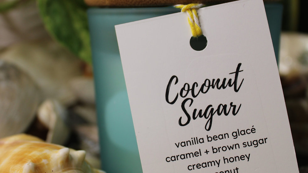 Coconut Sugar 100% Soy Candle