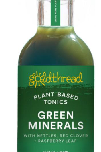 Gold Thread Green Minerals