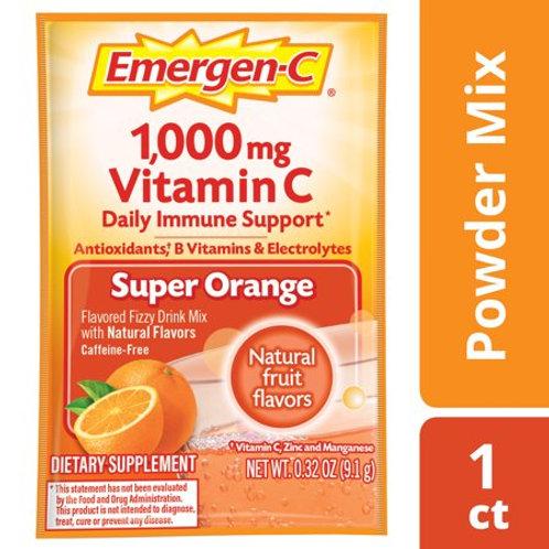 EmergenC Alacer Orange Trial