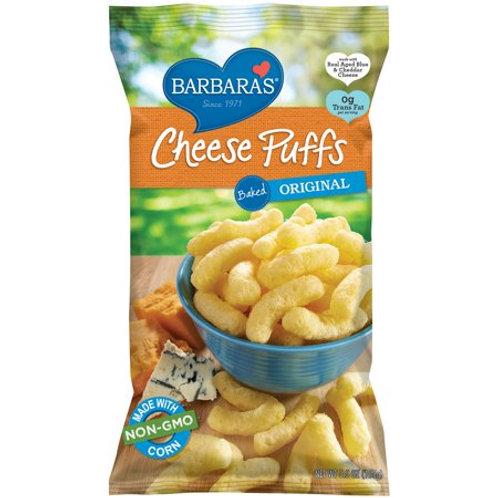 Barbara Cheese Puffs Baked