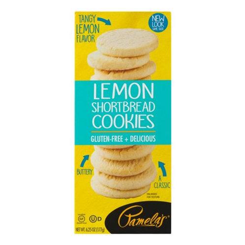 Lemon Shortbread Cookies GF