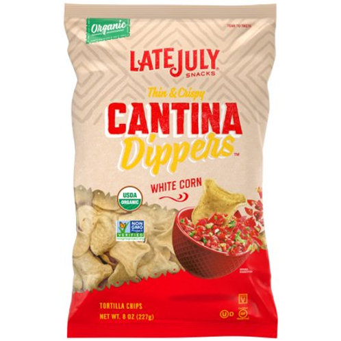 LtJuly White Corn Dippers Chip