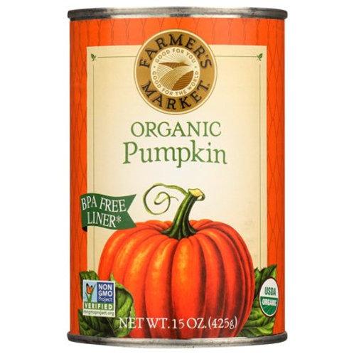 Farmers Market Pumpkin Canned