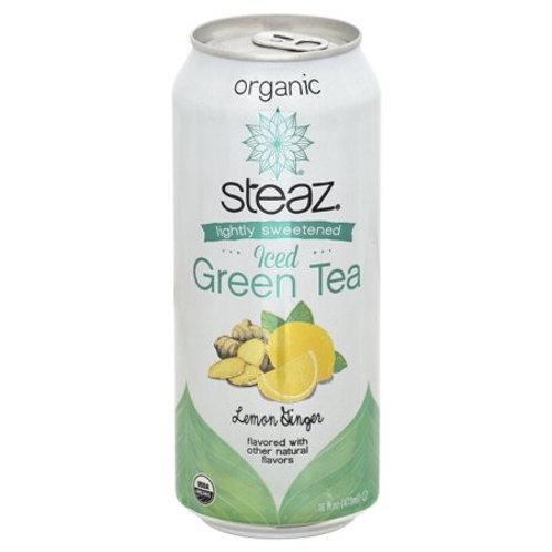 Steaz Lmn Ginger Iced Tea