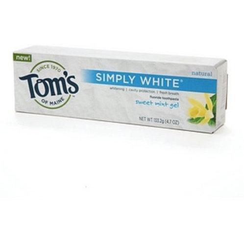 Toms Simply White Sweet Mint Gel