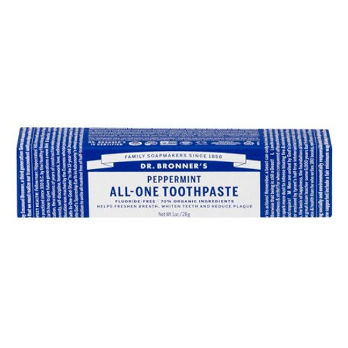 DrB Peppermint Travel Toothpaste