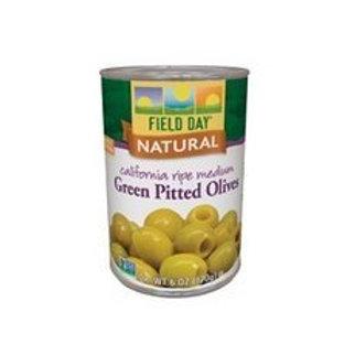 FldDay Olives Green Med Pitted