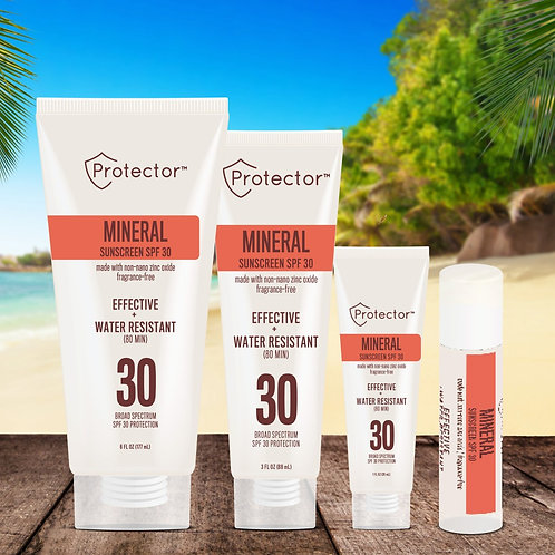 Sun Protector Mineral Sunscreen