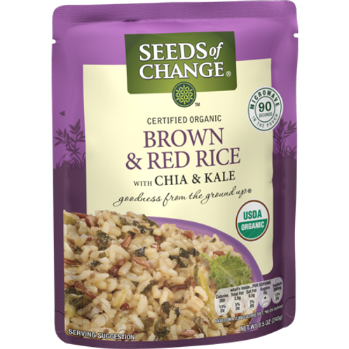 Seeds Brown & Red Rice