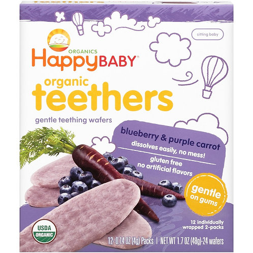 Happy Blueberry Carrot Teether