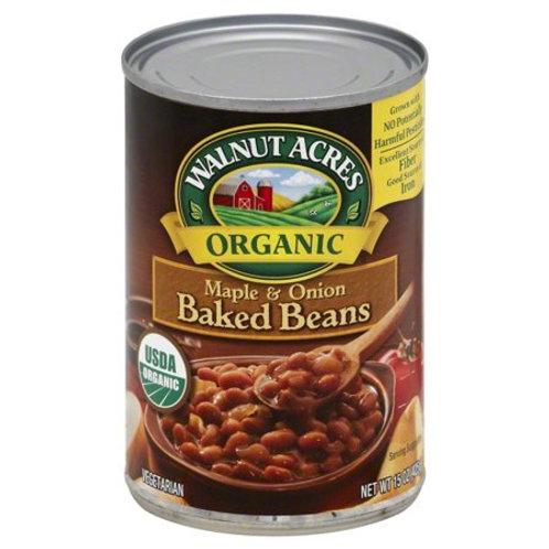 Walnut Maple Onion Baked Beans