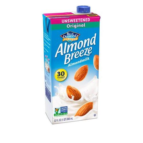 BlueD Almnd Breeze Unswt Orig Milk