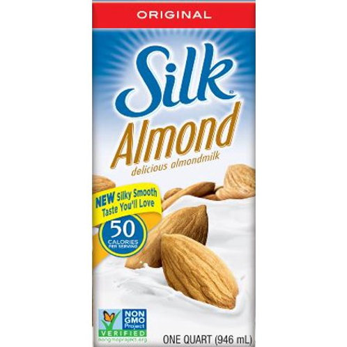 Silk Orig Aspt Almond Milk