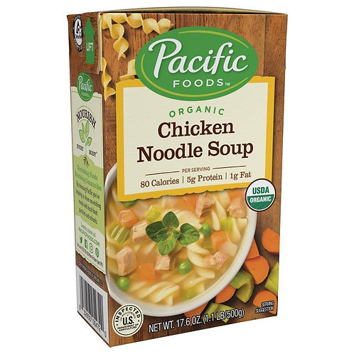 Pacific Chicken Noodle Soup
