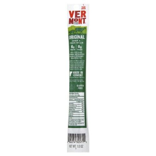 Vermont Cracked Pepper Jerky Stick