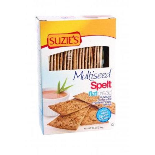 Suzies Multiseed Spelt Flatbrd