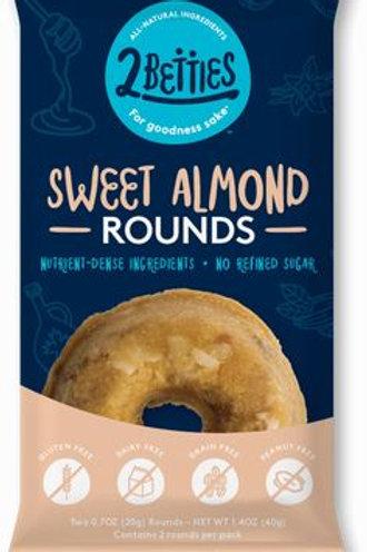 2 Betties Sweet Almonds Rounds