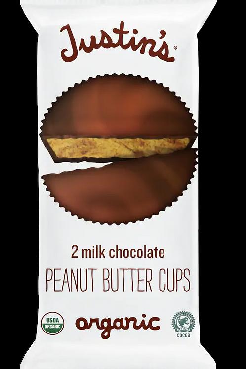Justins Peanut Butter Cup Milk Choc