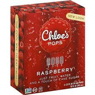 Chloe's Raspberry Fruit Pop