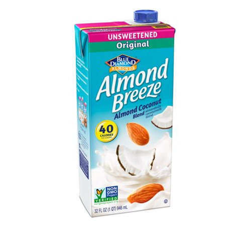 BlueD Almond Breeze Coconut Unsweetened Milk