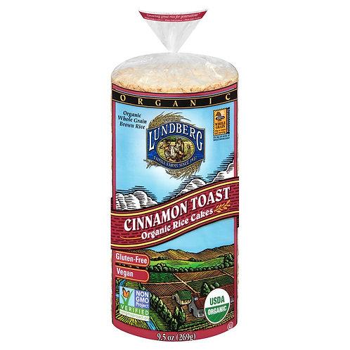 Lundberg Cinn Toast Rice Cake