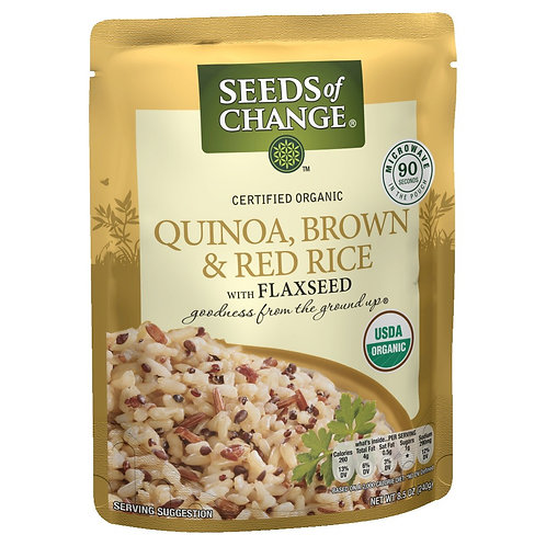 Seeds Quinoa, Brown & Red Rice
