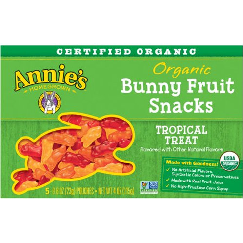 Annies Fruit Snack Tropical