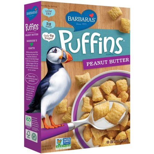 Barbara Puffins Pnut Butter Cereal