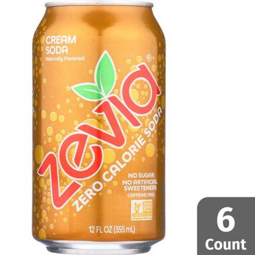 Zevia Cream Soda 6Pk