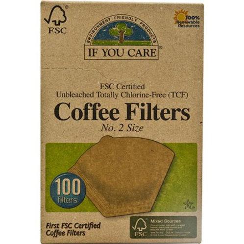 IFYC Coffee Filter #2 Cone Brwn
