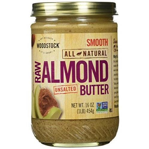 Wdstck Raw Almond Butter