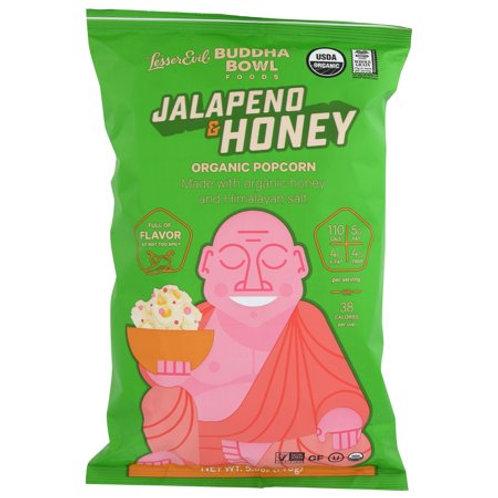 Lesser Evil Jalapeno Popcorn