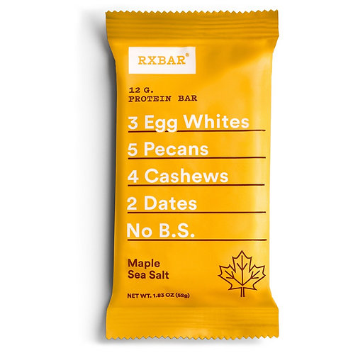 RxBar Maple Sea Salt Protein