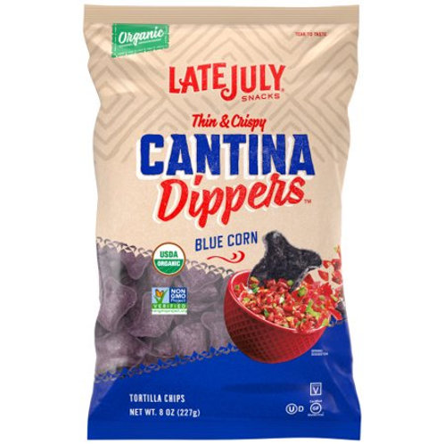 LtJuly Blue Corn Dippers Chip
