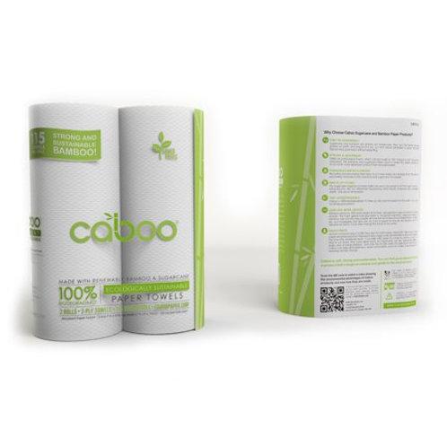 Caboo Paper Towel 2 Pk
