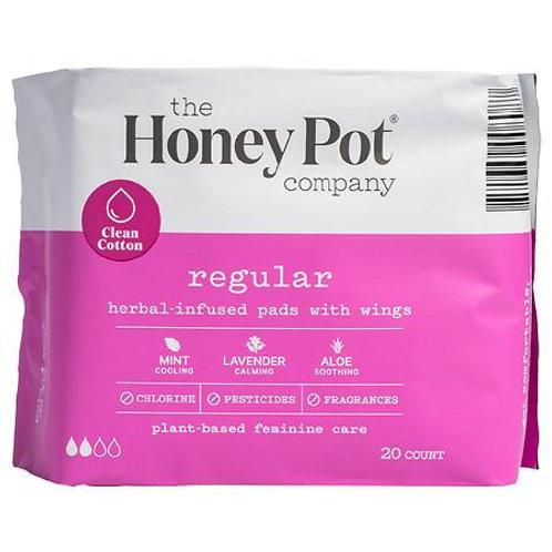 Herbal Regular Pads - 20 ct