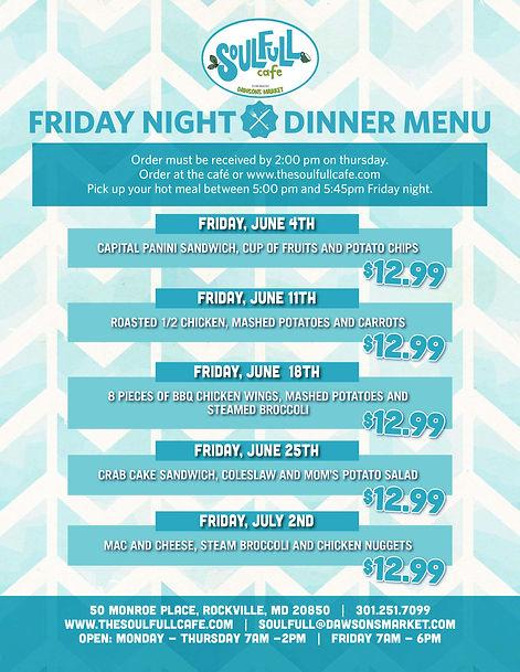 Soulfull Friday Night Dinner June_Vertic