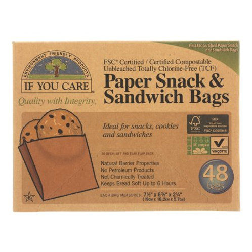 IFYC Unbleached Sandwich Bags