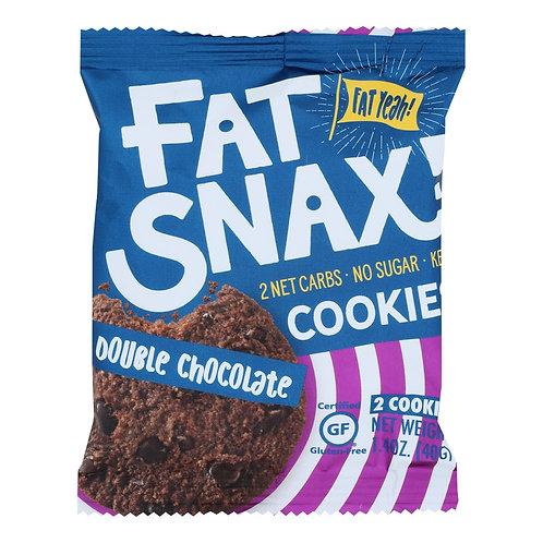 FatSnax Dbl Choc Chip Cookies