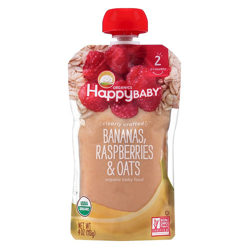 Happy Banana Raspberry Oat