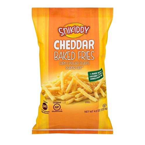 Snikid Fries Cheddar Cheese