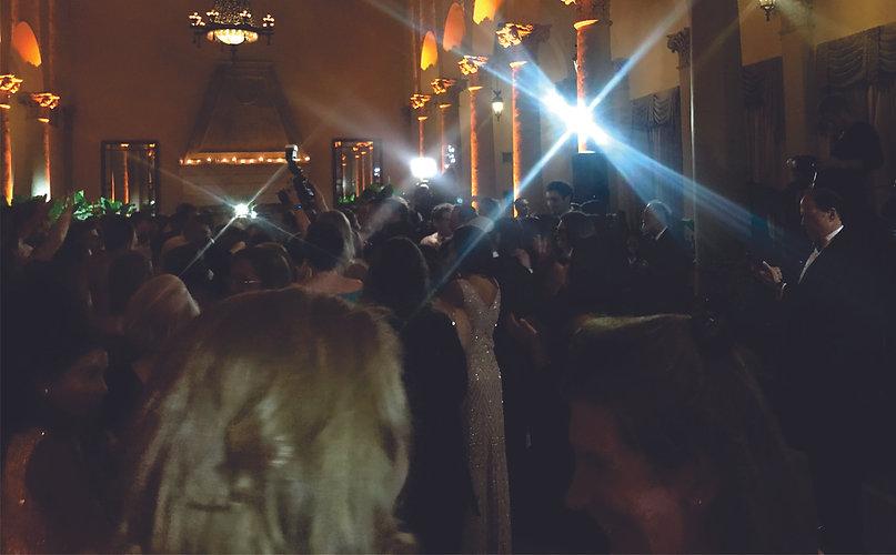 DJ funtasy audience on the dance floor