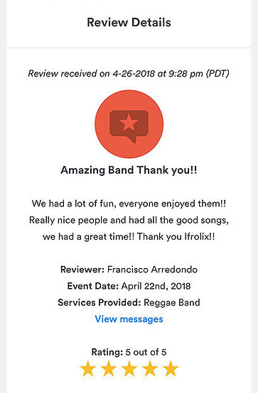 Ifrolix Band Five Star Review