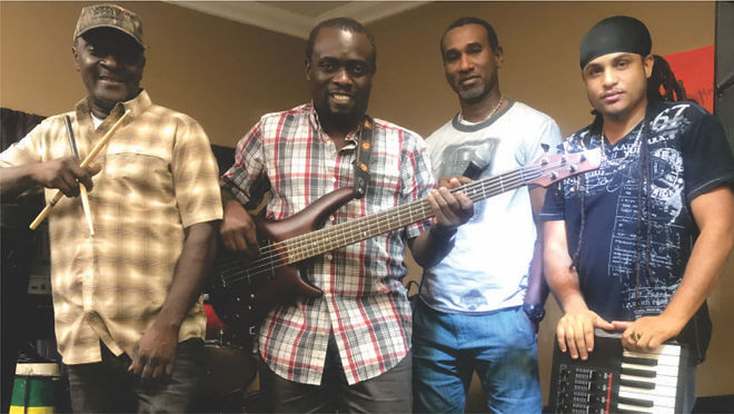 The ifrolix reggae band for hire