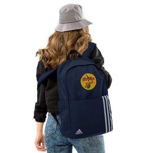 Adidas backpack with ifrolix band logo