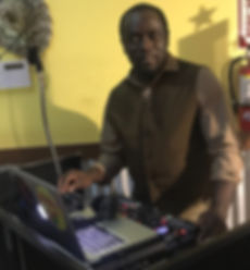 DJ funtasy at a gig in fort lauderdale florida